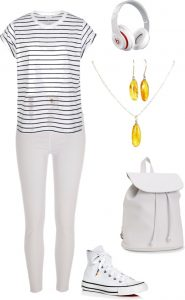 White weekend style