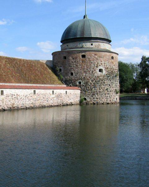 Vadstena castle in Sweden